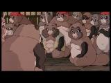 Война тануки в периоды Хэйсэй и Помпоко (Heisei Tanuki Gassen Ponpoko)